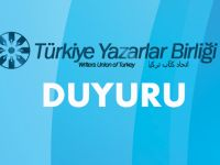 Türkiye Yazarlar Birliği'nden açıklama
