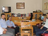 Rektör Yülek, TYB Genel Başkanı Arıcan'ı Ziyaret Etti