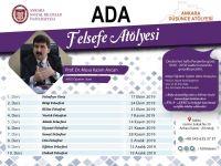 Genel Başkan Arıcan ADA'da Felsefe Atölyesi'ni Yönetecek