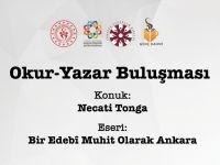 Yazar Necati Tonga Genç Kahvede Konuşacak