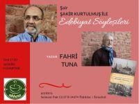 Abbara Kahve Edebiyat Söyleşilerine Fahri Tuna Konuk Oluyor