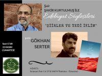 Abbara Kahve Edebiyat Söyleşilerinin Konuğu Gökhan Serter