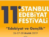 11. İstanbul Edebiyat Festivali 26 Aralık'ta Başlıyor