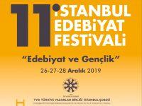 11. İstanbul Edebiyat Festivali'nin Açılışı 26 Aralık'ta