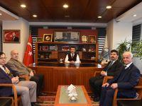TYB Başkanı Arıcan Altındağ Belediye Başkanı Balcı'yı ziyaret etti