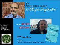 Abbara Kahve Edebiyat Söyleşilerinin Konuğu Recep Seyhan