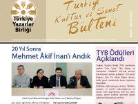 TYB 2020 Mart - Nisan Bülteni yayınlandı