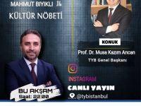 Başkan Arıcan, Kültür Nöbetine Konuk Olacak