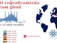 TYB Ankara Şubesi Gönül Coğrafyamızla Bayramlaşacak