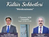 """Prof. Dr. Kudret Bülbül """"Kültür Sohbetleri""""ne Konuk Olacak"""