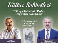 """Ercan Yıldırım """"Kültür Sohbetleri""""ne Konuk Olacak"""