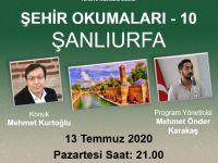 """Mehmet Kurtoğlu """"Şehir Okumaları""""na konuk olacak"""