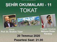 """Prof. Dr. İbrahim Tüzer """"Şehir Okumaları""""na konuk olacak"""