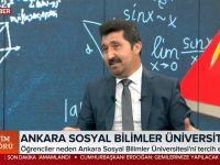 Başkan Arıcan TRT Haber'e konuştu: Sosyal Bilimler Büyük Önem Kazanacak