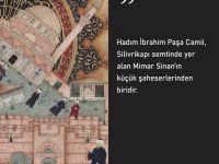 Mimar Sinan'ın küçük şaheserlerinden Hadım İbrahim Paşa Camii
