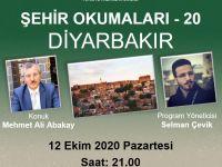 """Mehmet Ali Abakay """"Şehir Okumaları""""na konuk olacak"""