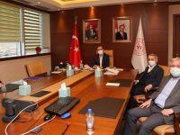 Gençlik ve Spor Bakanına Başkanlardan Ziyaret