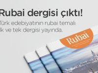 Rubai Dergisi'nin İlk Sayısı Yayımlandı