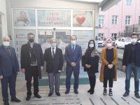 Trabzon Şube Başkanı Tuna: Sağlık çalışanlarımızın yanındayız