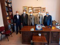 Türk Veteriner Hekimler Birliği (TVHB) Merkez Konseyi'nden, Türkiye Yazarlar Birliği'ni ziyaret.