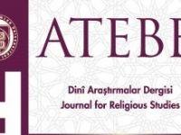 ATEBE Dinî Araştırmalar Dergisi