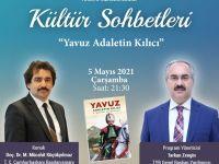"""Doç. Dr. M. Mücahit Küçükyılmaz """"Kültür Sohbetleri""""ne Konuk Olacak"""
