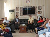 Türkiye Yazarlar Birliği Genel Başkanı Arıcan, Dörtyol Gazeteciler Cemiyeti'ni Ziyaret Etti