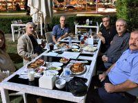 TYB Sakarya'dan Adapazarı Kaymakamı Yusuf Ziya Çelikkaya'ya Uğurlama Yemeği