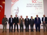 100. Yılında İstiklâl Marşı ve Mehmet Âkif Ersoy Bilgi Şöleni Yapıldı