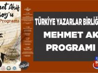 Türkiye Yazarlar Birliği Tarafından Elazığ'da Mehmet Âkif Ersoy'u Anma Programı Yapıldı