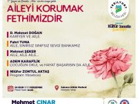 """D. Mehmet Doğan """"Kariyer ve Aile"""" ilişkisini anlatacak"""