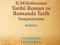 Tarihî Roman ve Romanda Tarih Sempozyumu Bildiriler kitabı çıktı!