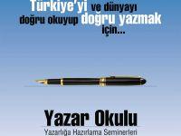 Yazar Okulu: D. Mehmet Doğan ile Yazı Atölyesi Bugün Başlıyor!