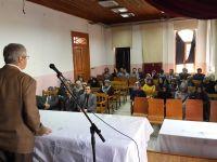 TYB Vakfı Başkanı D.Mehmet Doğan, Yıldırım Beyazıt Üniversitesi'nde konferans verdi