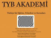 TYB Akademi 13: Türkiye'de Eğitim, Felsefesi ve Sorunları