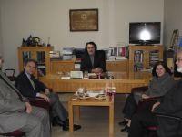 Romanya'nın Ankara Büyükelçisi Radu Onofrei TYB'yi ziyaret etti