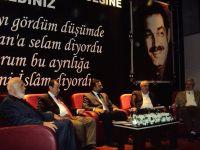 Mehmet Akif İnan Kayseri'de Anıldı