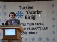 Türkiye Yazarlar Birliği 2014 ödülleri Bayburt'ta sahiplerini buldu