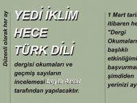 """Ankara Şubesi'nde """"Dergi Okumaları"""""""