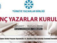 Türkiye'nin İlk Genç Yazarlar Kurultayı