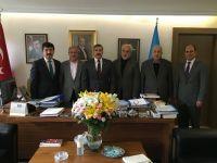 TYB'den Kültür ve Turizm Bakan Yardımcısı Yayman'ı Ziyaret