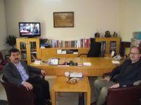 Beyazıt Akman'dan Genel Başkan'a Tebrik Ziyareti