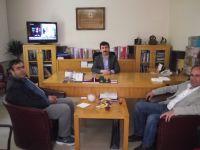 Hüseyin Tutar 'dan Genel Başkan'a Tebrik Ziyareti
