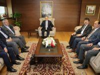 TYB'den Gençlik ve Spor Bakanı Kılıç'ı Ziyaret