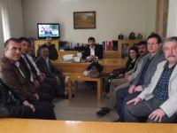TYB Genel Başkanı Arıcan'a Tebrik Ziyaretleri Devam Ediyor