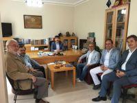 TYB Genel Başkanı Arıcan'ı ziyaret