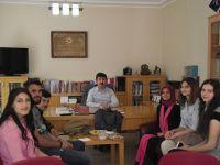 Genç Felsefeciler TYB'yi ziyaret etti