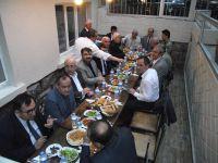 Yazarlar herfene iftarında biraraya geldi