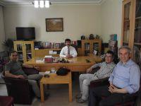 Felsefe Bölümü Öğretim Üyelerinden TYB'yi ziyaret