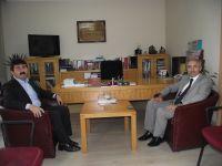 Rektör Prof. Dr. Hüseyin Karaman'dan TYB'yi ziyaret